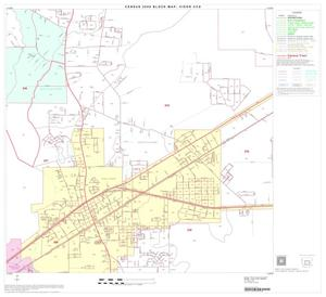 Primary view of object titled '2000 Census County Subdivison Block Map: Vidor CCD, Texas, Block 5'.