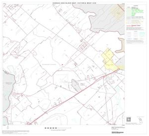 Primary view of object titled '2000 Census County Subdivison Block Map: Victoria West CCD, Texas, Block 4'.