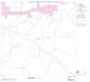 Primary view of object titled '2000 Census County Subdivison Block Map: Weatherford Southeast CCD, Texas, Block 9'.