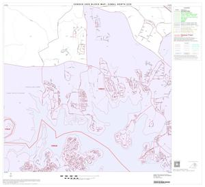 Primary view of object titled '2000 Census County Subdivison Block Map: Comal North CCD, Texas, Block 5'.