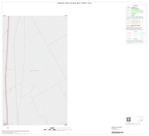Primary view of object titled '2000 Census County Subdivison Block Map: West CCD, Texas, Inset A02'.