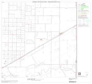 Primary view of object titled '2000 Census County Subdivison Block Map: Hereford East CCD, Texas, Block 6'.