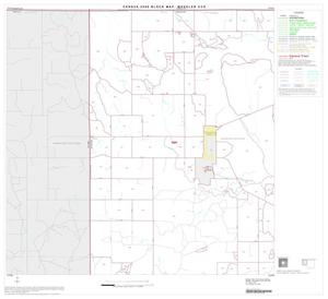 Primary view of object titled '2000 Census County Subdivison Block Map: Wheeler CCD, Texas, Block 1'.