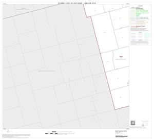 Primary view of object titled '2000 Census County Subdivison Block Map: Lamesa CCD, Texas, Block 8'.