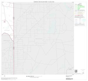 Primary view of object titled '2000 Census County Subdivison Block Map: Alice CCD, Texas, Block 8'.
