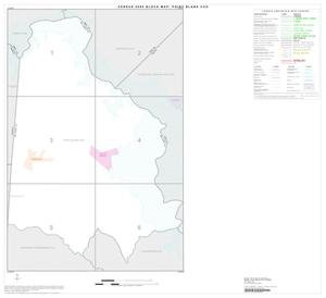Primary view of object titled '2000 Census County Subdivison Block Map: Point Blank CCD, Texas, Index'.