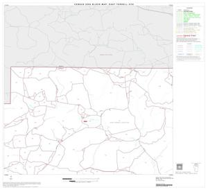 Primary view of object titled '2000 Census County Subdivison Block Map: East Terrell CCD, Texas, Block 2'.