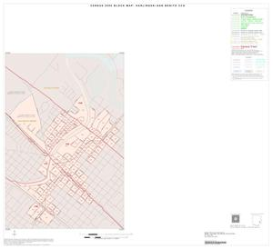 Primary view of object titled '2000 Census County Subdivison Block Map: Harlingen-San Benito CCD, Texas, Inset J01'.