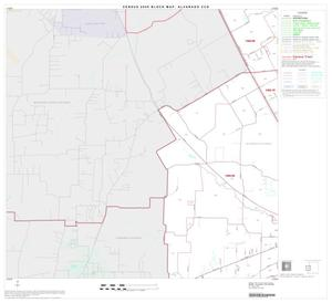 Primary view of object titled '2000 Census County Subdivison Block Map: Alvarado CCD, Texas, Block 4'.