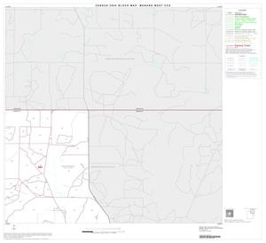 Primary view of object titled '2000 Census County Subdivison Block Map: Menard West CCD, Texas, Block 2'.