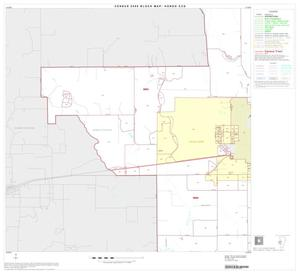 Primary view of object titled '2000 Census County Subdivison Block Map: Hondo CCD, Texas, Block 7'.