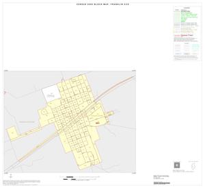 Primary view of object titled '2000 Census County Subdivison Block Map: Franklin CCD, Texas, Inset A01'.