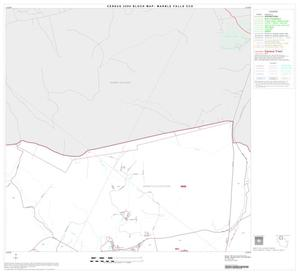 Primary view of object titled '2000 Census County Subdivison Block Map: Marble Falls CCD, Texas, Block 2'.
