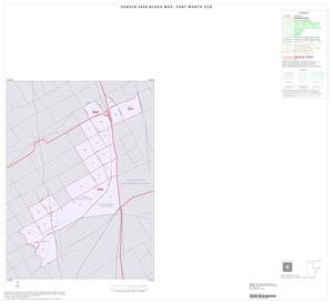 Primary view of object titled '2000 Census County Subdivison Block Map: Fort Worth CCD, Texas, Inset A01'.