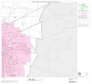 Primary view of object titled '2000 Census County Subdivison Block Map: Mount Pleasant CCD, Texas, Block 8'.