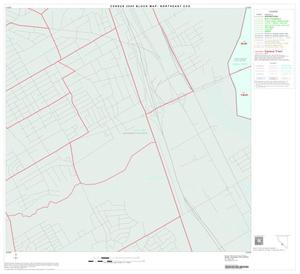 Primary view of object titled '2000 Census County Subdivison Block Map: Northeast CCD, Texas, Block 47'.