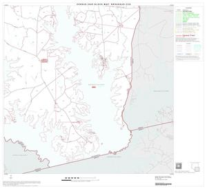 Primary view of object titled '2000 Census County Subdivison Block Map: Broaddus CCD, Texas, Block 4'.