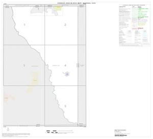 Primary view of object titled '2000 Census County Subdivison Block Map: Sabinal CCD, Texas, Index'.