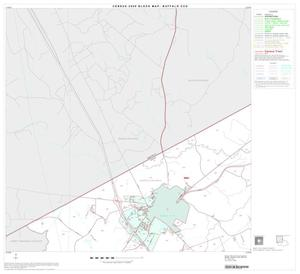 Primary view of object titled '2000 Census County Subdivison Block Map: Buffalo CCD, Texas, Block 1'.
