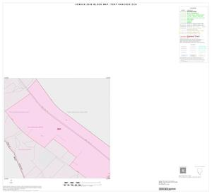 Primary view of object titled '2000 Census County Subdivison Block Map: Fort Hancock CCD, Texas, Inset B01'.