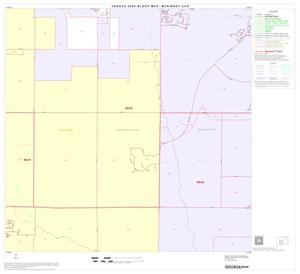 Primary view of object titled '2000 Census County Subdivison Block Map: McKinney CCD, Texas, Block 6'.