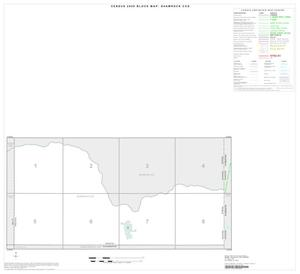 Primary view of object titled '2000 Census County Subdivison Block Map: Shamrock CCD, Texas, Index'.