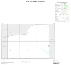 Primary view of object titled '2000 Census County Subdivison Block Map: Gail South CCD, Texas, Index'.