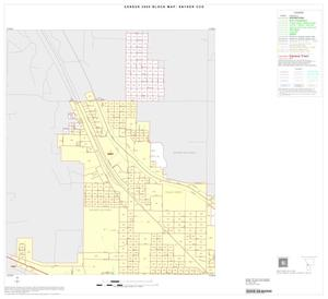Primary view of object titled '2000 Census County Subdivison Block Map: Snyder CCD, Texas, Inset A01'.