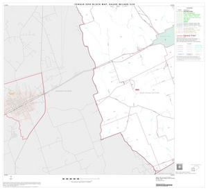 Primary view of object titled '2000 Census County Subdivison Block Map: Gause-Milano CCD, Texas, Block 4'.