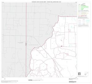 Primary view of object titled '2000 Census County Subdivison Block Map: Eden-Millersview CCD, Texas, Block 3'.