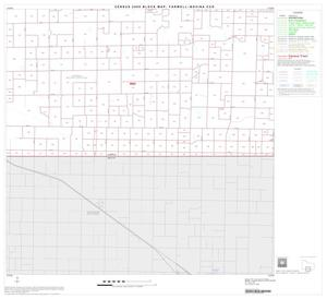Primary view of object titled '2000 Census County Subdivison Block Map: Farwell-Bovina CCD, Texas, Block 7'.