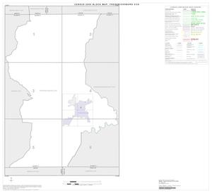 Primary view of object titled '2000 Census County Subdivison Block Map: Fredericksburg CCD, Texas, Index'.