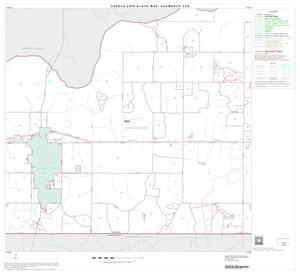 Primary view of object titled '2000 Census County Subdivison Block Map: Shamrock CCD, Texas, Block 7'.