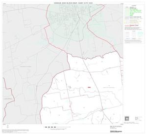 Primary view of object titled '2000 Census County Subdivison Block Map: Gary City CCD, Texas, Block 1'.