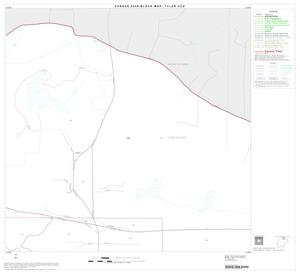 Primary view of object titled '2000 Census County Subdivison Block Map: Tyler CCD, Texas, Block 3'.