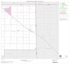 Primary view of object titled '2000 Census County Subdivison Block Map: Anton CCD, Texas, Block 2'.