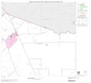 Primary view of object titled '2000 Census County Subdivison Block Map: Brazoria-West Columbia CCD, Texas, Block 2'.