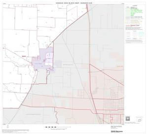 Primary view of object titled '2000 Census County Subdivison Block Map: Sanger CCD, Texas, Block 5'.