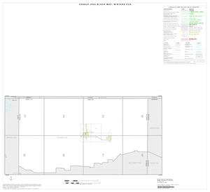 Primary view of object titled '2000 Census County Subdivison Block Map: Winters CCD, Texas, Index'.