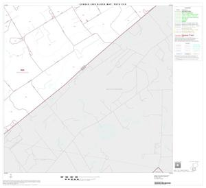 Primary view of object titled '2000 Census County Subdivison Block Map: Poth CCD, Texas, Block 7'.