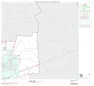 Primary view of object titled '2000 Census County Subdivison Block Map: Cleburne CCD, Texas, Block 3'.