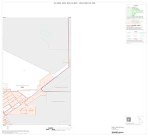 Primary view of object titled '2000 Census County Subdivison Block Map: Jourdanton CCD, Texas, Inset A02'.