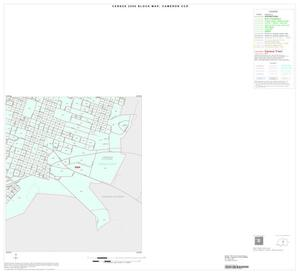 Primary view of object titled '2000 Census County Subdivison Block Map: Cameron CCD, Texas, Inset A04'.