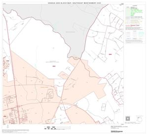 Primary view of object titled '2000 Census County Subdivison Block Map: Southeast Montgomery CCD, Texas, Block 7'.