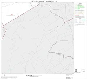 Primary view of object titled '2000 Census County Subdivison Block Map: Gause-Milano CCD, Texas, Block 6'.