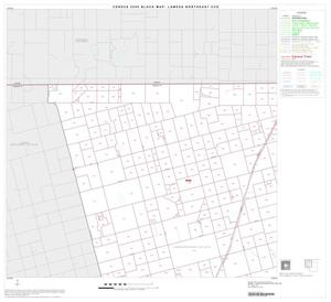 Primary view of object titled '2000 Census County Subdivison Block Map: Lamesa Northeast CCD, Texas, Block 1'.