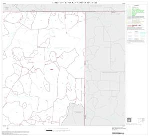 Primary view of object titled '2000 Census County Subdivison Block Map: Matador North CCD, Texas, Block 3'.