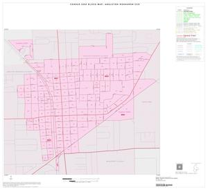 Primary view of object titled '2000 Census County Subdivison Block Map: Angleton-Rosharon CCD, Texas, Inset C01'.