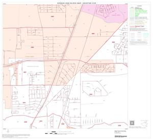 Primary view of object titled '2000 Census County Subdivison Block Map: Houston CCD, Texas, Block 24'.