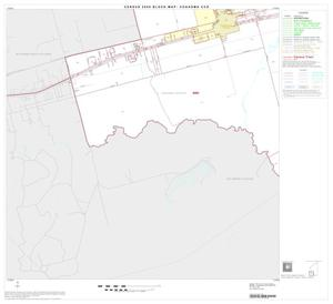 Primary view of object titled '2000 Census County Subdivison Block Map: Coahoma CCD, Texas, Block 5'.
